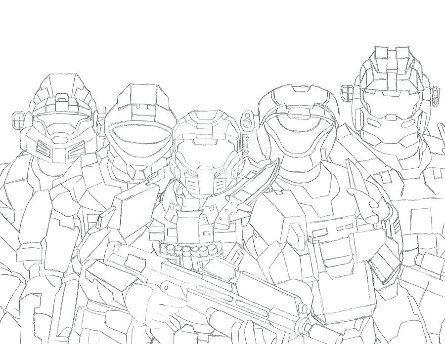 900x697 Halo Reach Coloring Pages Halo Coloring Sheets Halo Reach Coloring
