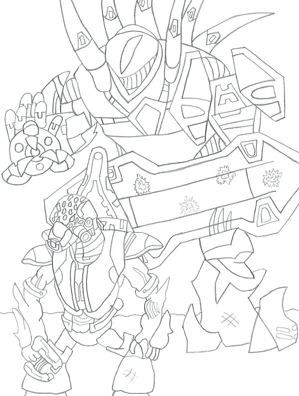 600x794 Halo Reach Coloring Pages To Print The Knight Page Master Chief