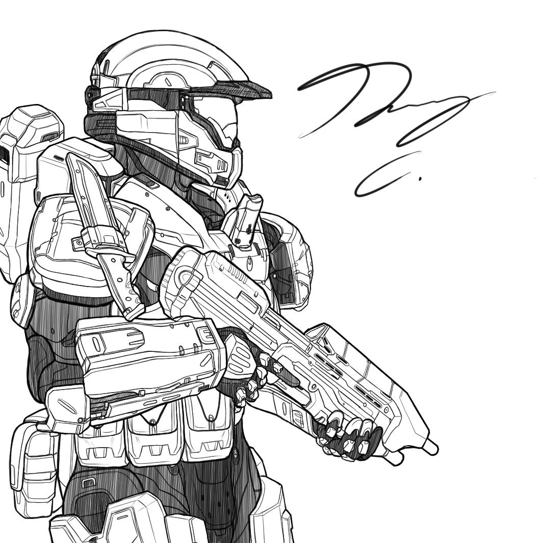 1065x1065 A Juice To Surpass Pickled Gear! On Twitter More @halo Sketches
