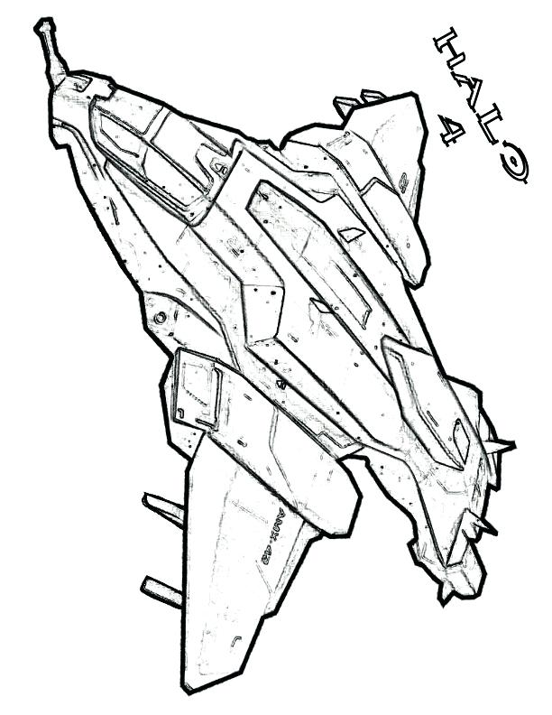 612x792 Spartan Coloring Pages Halo 4 Pelican Drop Ship Halo Reach Spartan