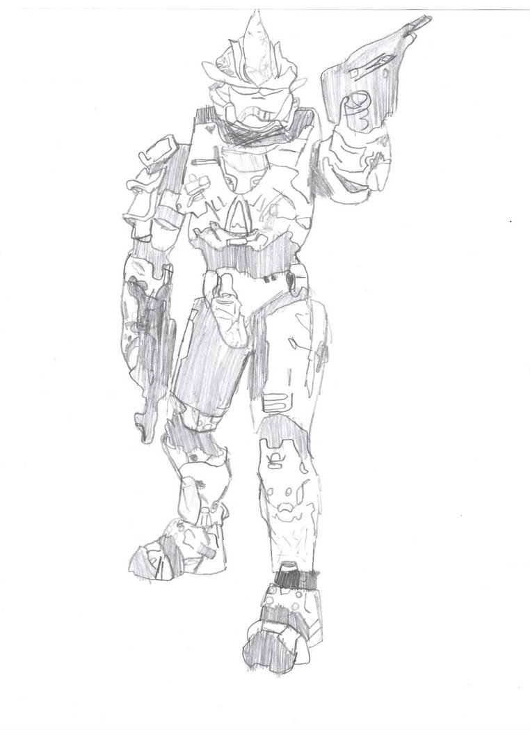 762x1049 Halo Armor By Tim Is Drawing