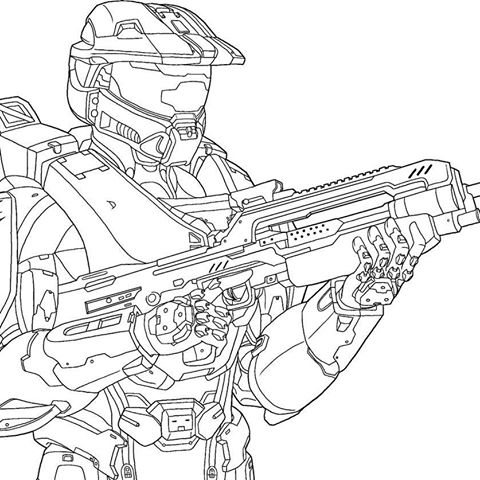 halo mongoose coloring pages - photo#14