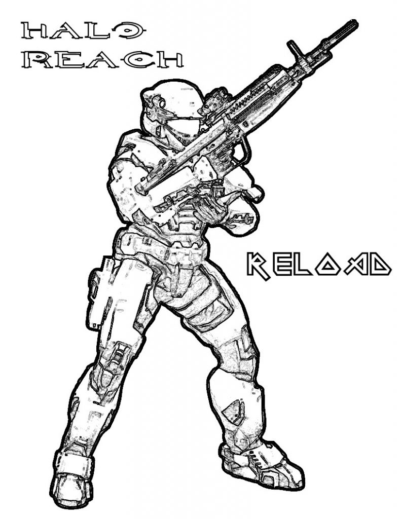 791x1024 Free Coloring Pages Of Gee From Halo Spartan Printable Adult 4
