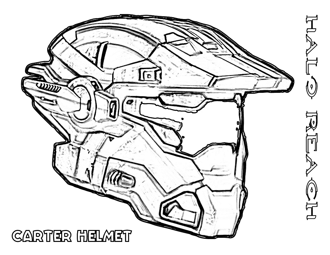 1056x816 Halo Coloring Pages