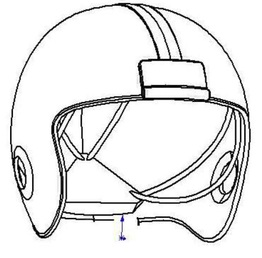 262x258 Kinetic Response Helmet
