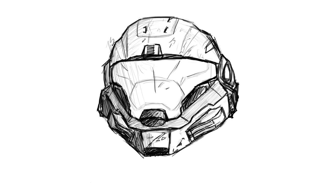 1280x718 Noble 6 Sketch Helmet By Icandrawrainbows