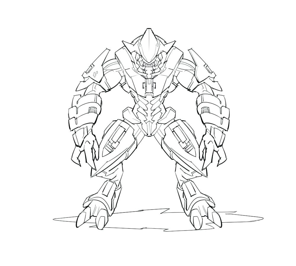 1000x900 Coloring Halo Spartan Coloring Pages Carter Helmet Page Free