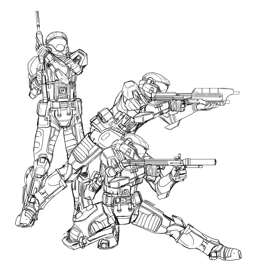 900x915 Master Chief Coloring Pages Paginone.biz