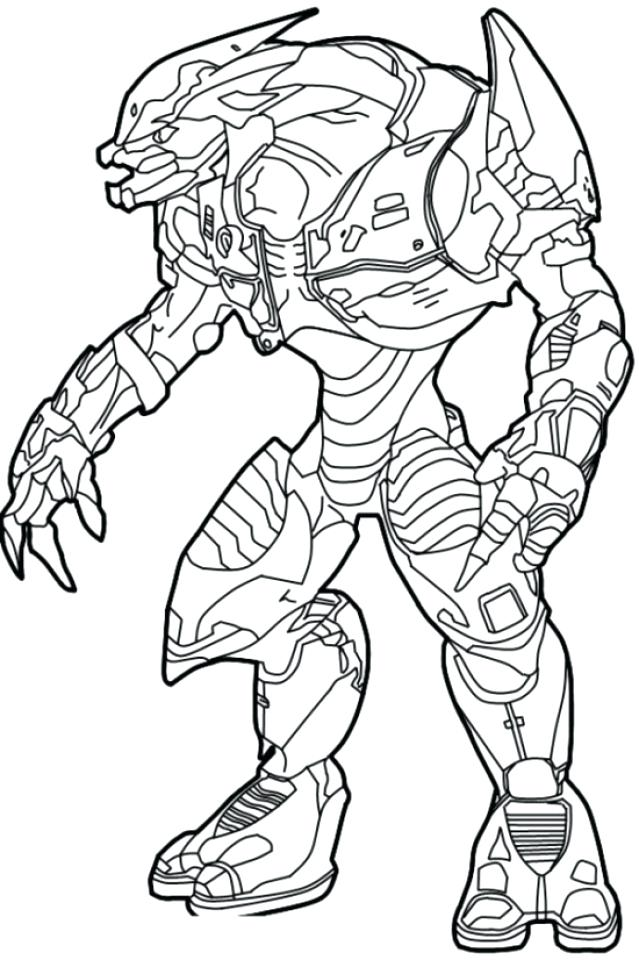 639x960 Magnificent Appealing Halo Master Chief Coloring Pages Kids 5 4