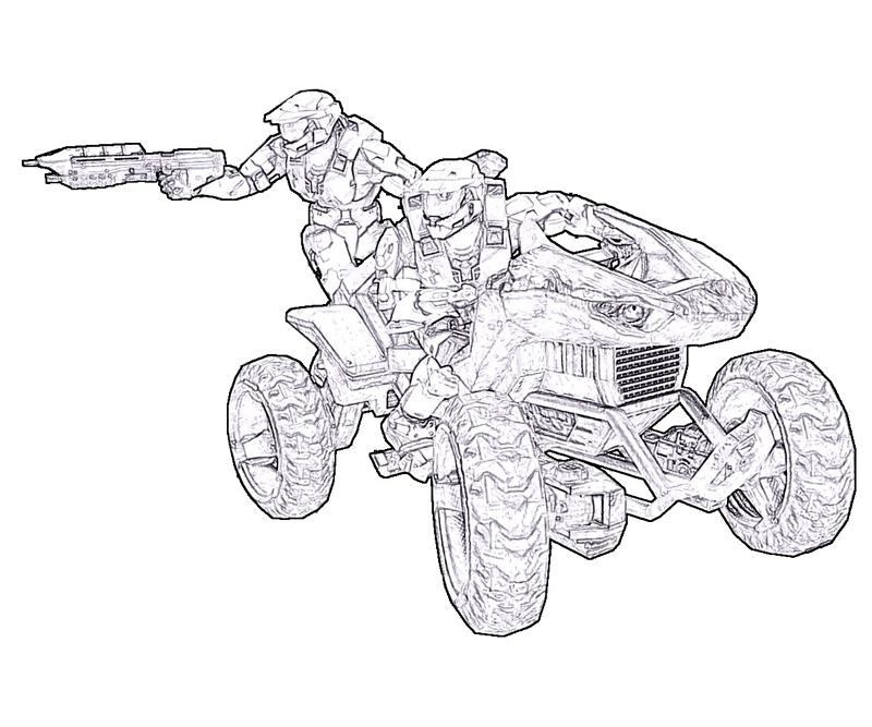 800x667 Download Halo Coloring Pages