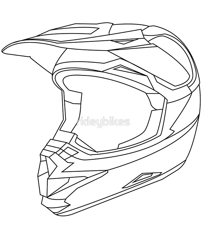 679x800 Drawn Helmet