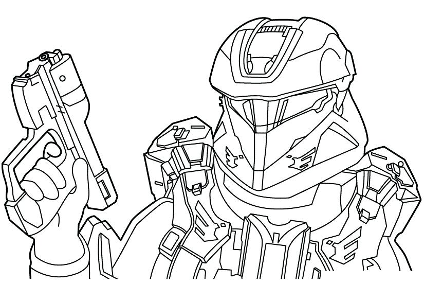 825x552 Famous Halo Master Chief Coloring Pages Gallery
