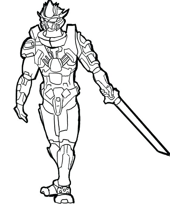 561x675 Great Master Chief Coloring Page Fee Halo Pages Printable Helmet