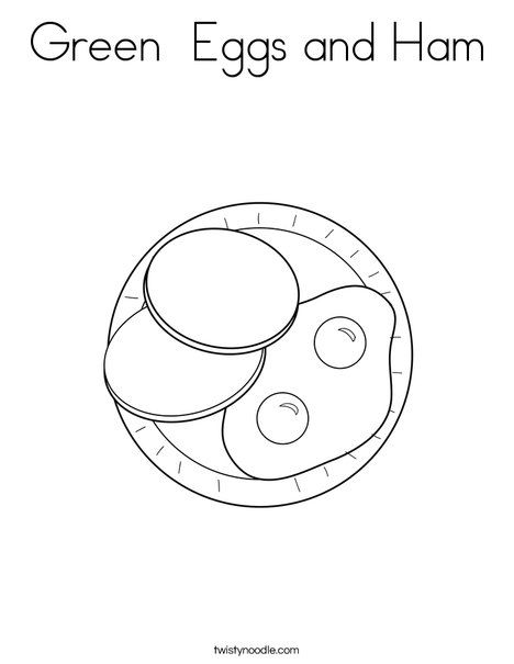 468x605 Green Eggs And Ham Coloring Page From Food Mini