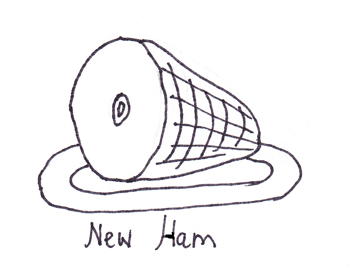 1200x954 Ham Coloring Pages