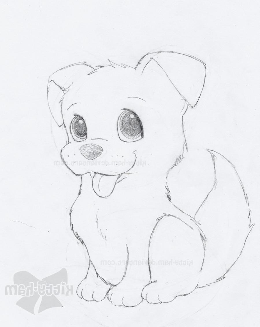 900x1129 Sketch Of Puppies Puppy Sketchkitty Ham