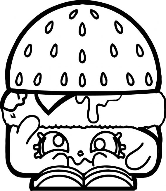 568x650 Hamburger Coloring Pages Nice Coloring Pages For Kids
