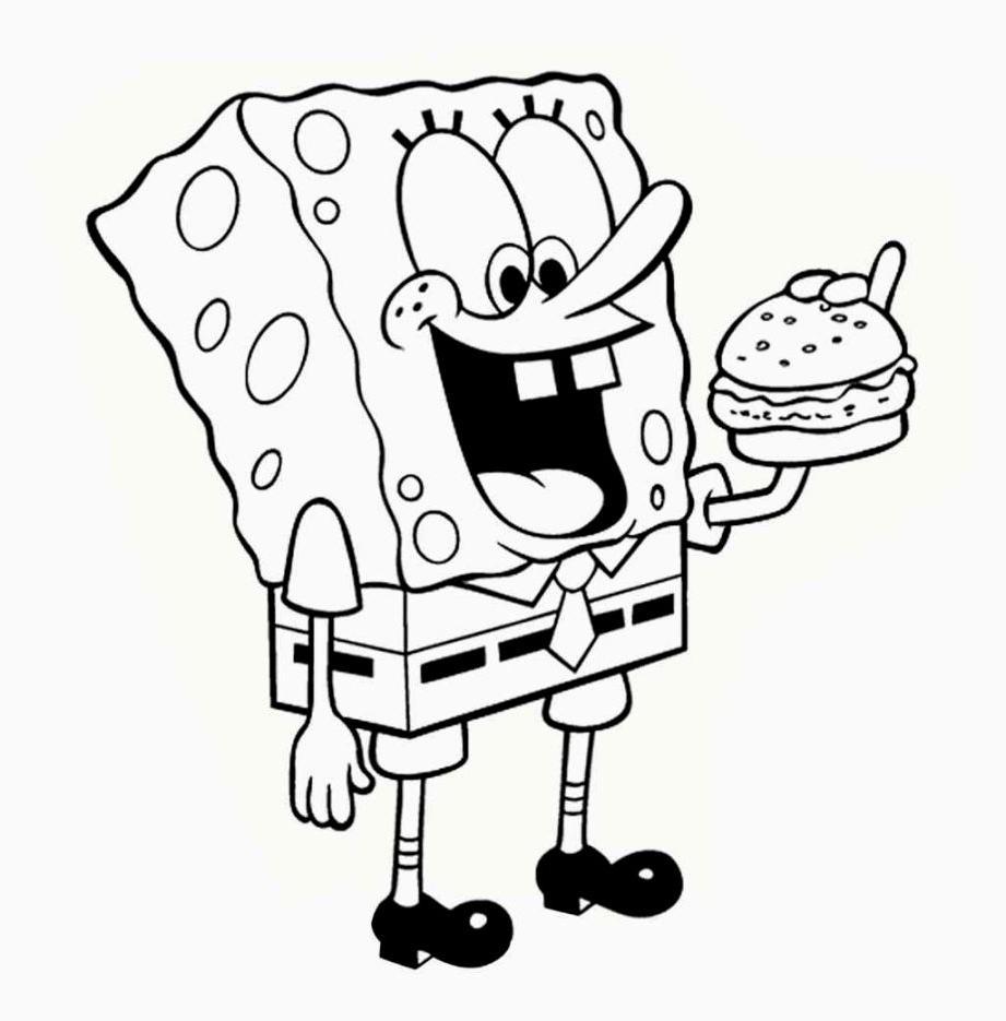 921x935 Top 10 Drawn Hamburger Spongebob Pictures