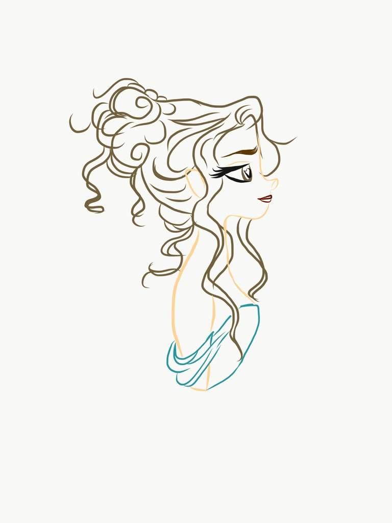 768x1024 Eliza Drawing Hamilton Roleplay! Amino