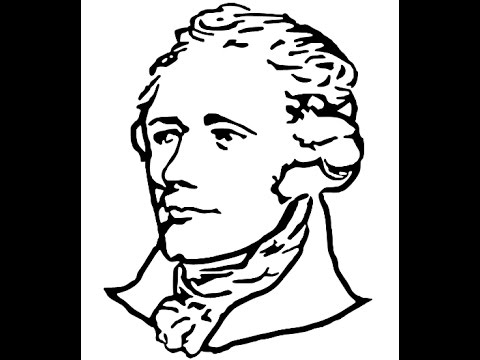 480x360 How To Draw Alexander Hamilton Face Drawing Step By Step