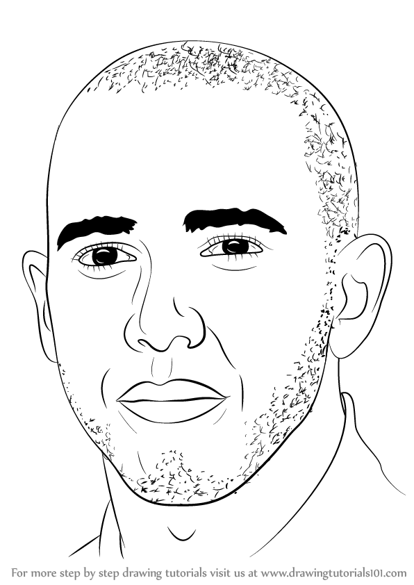 596x842 Learn How To Draw Lewis Hamilton (Formula One Drivers) Step By