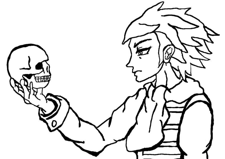 900x638 Hamlet Line Art By Theiiofswords