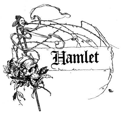 421x393 Hamlet By William Shakespeare