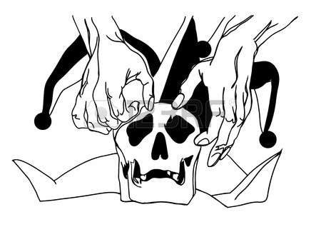 450x318 84 Hamlet Skull Stock Illustrations, Cliparts And Royalty Free