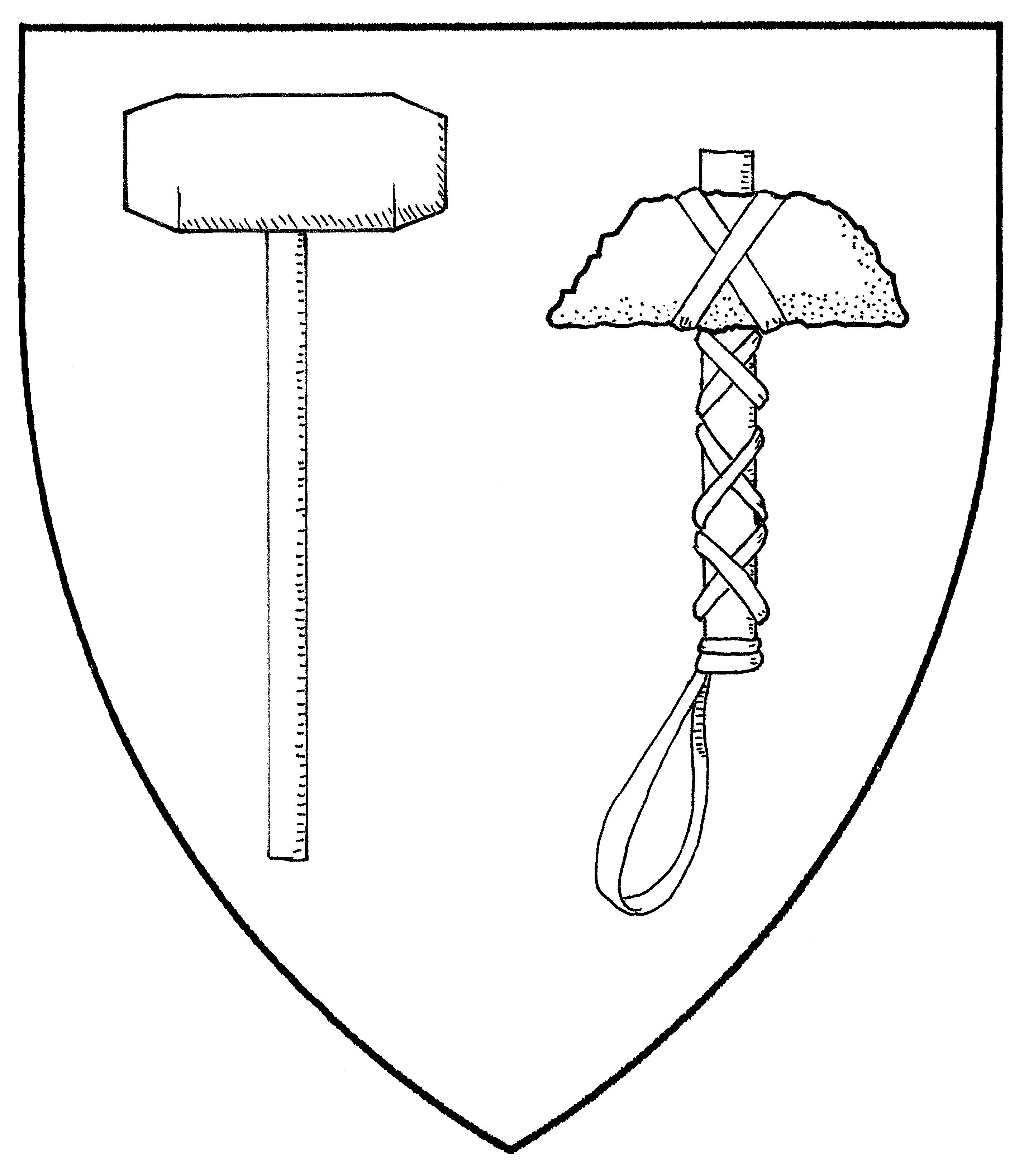 2857x3283 Sledgehammer Coloring Pages