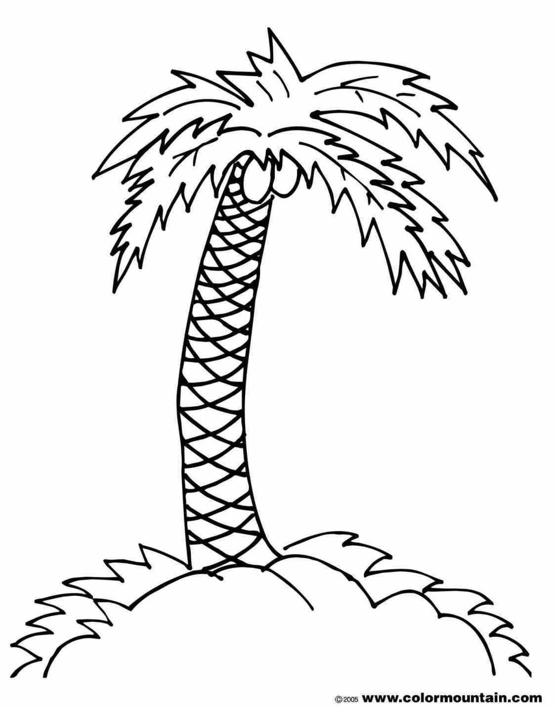 1123x1431 Island U Stock Illustration Palm Tree Hammock Drawing Of Man