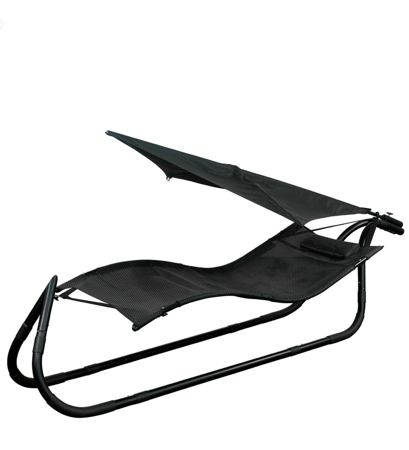800x880 Buy Beach Hammock With Black Upholstery By Royal Oak Online