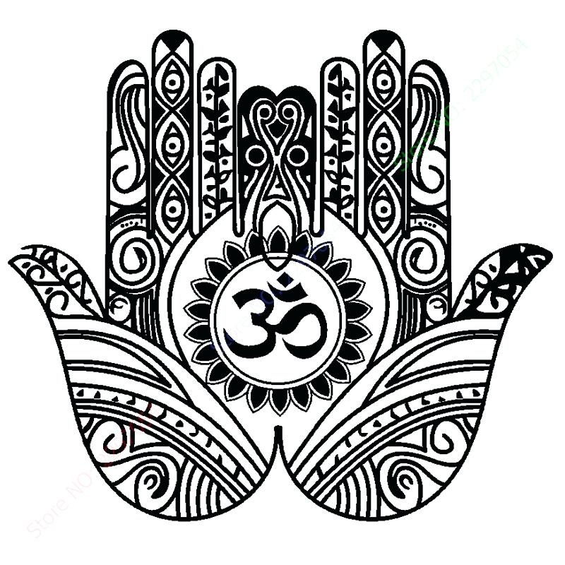 800x800 Hamsa Hand Decor Best Images On Mandalas And Draw Wall By Home
