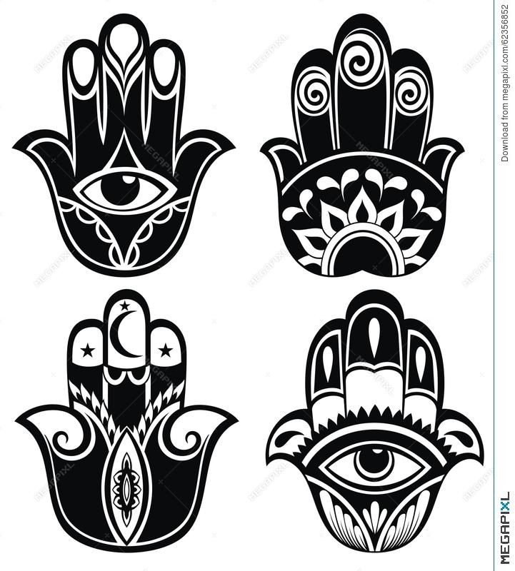 721x800 Hamsa Hand, Hand Of Fatima