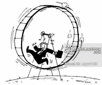 400x332 Hampster Wheel Cartoons And Comics