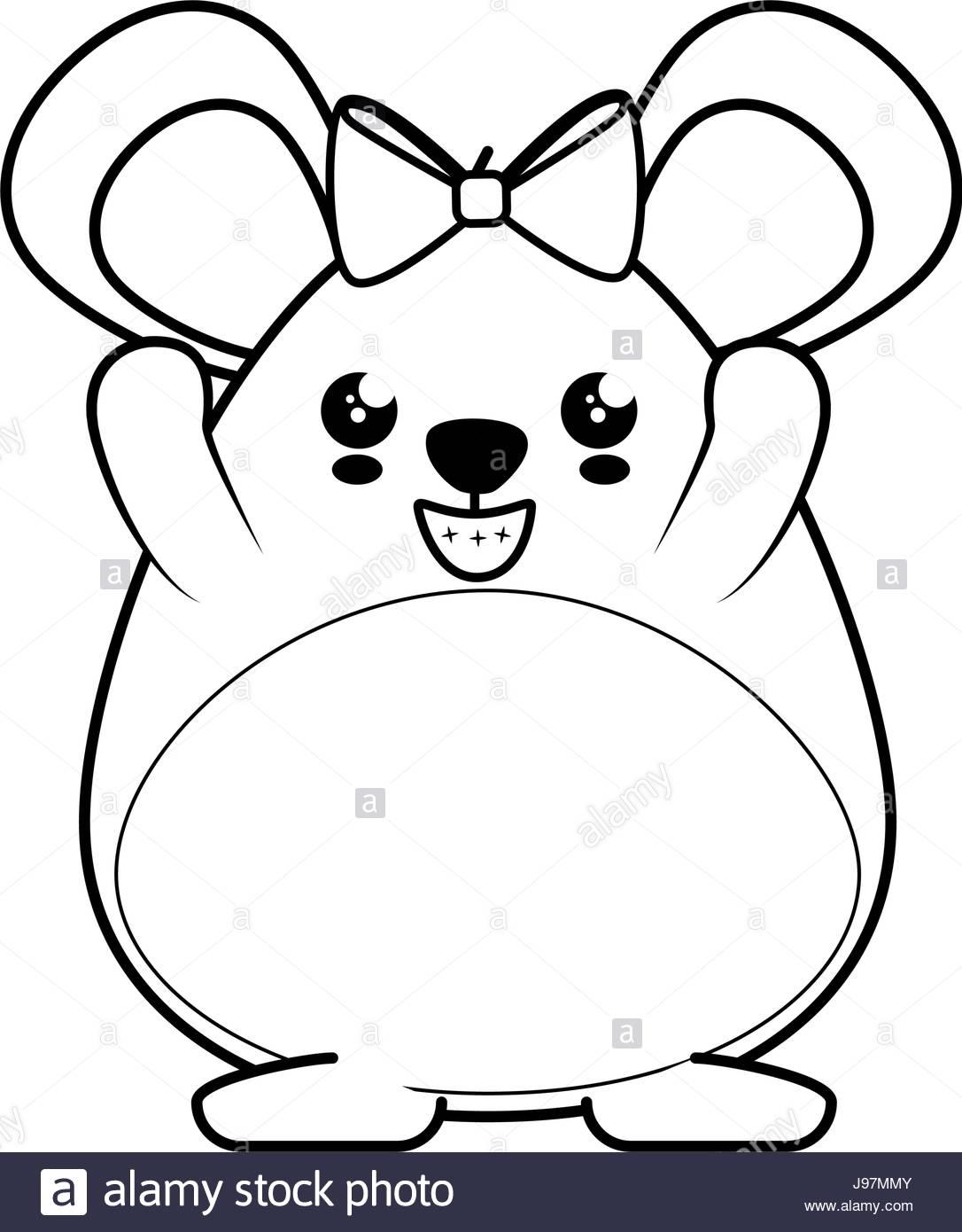 1086x1390 Hamster Kawaii Cartoon Stock Vector Art Amp Illustration, Vector