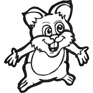 325x325 How To Draw Cartoon Hamsters With Easy Step By Step Drawing
