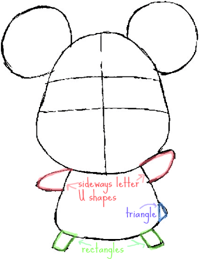 400x518 How To Draw Hamtaro The Cartoon Pet Hamster With Simple Drawing