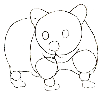 400x356 How To Draw A Hamster
