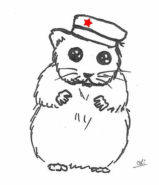 518x600 Communist Hamster By Oxiiiiii