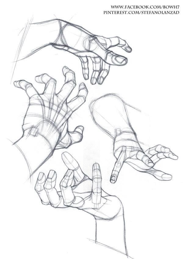 600x849 93 Best Hand Amp Arm Ref Images On Drawing Techniques