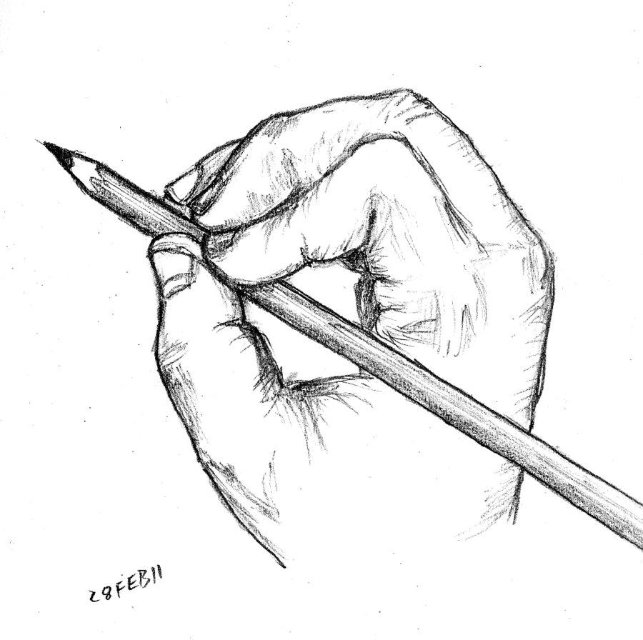 900x896 Drawing Hand By Gonzalexx1