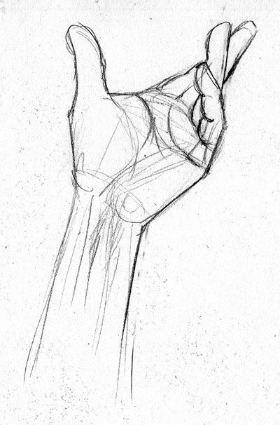 400x606 Pictures How To Draw Your Hand,