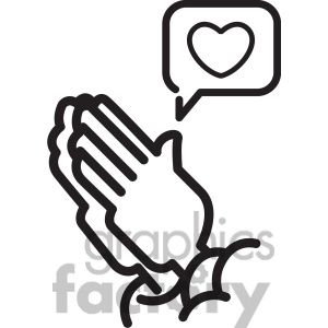 300x300 The Best Praying Hands Clipart Ideas On Praying