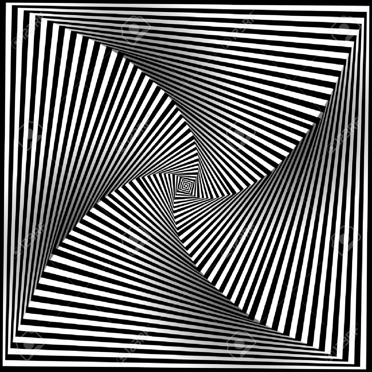 1300x1300 Optical Illusion Art