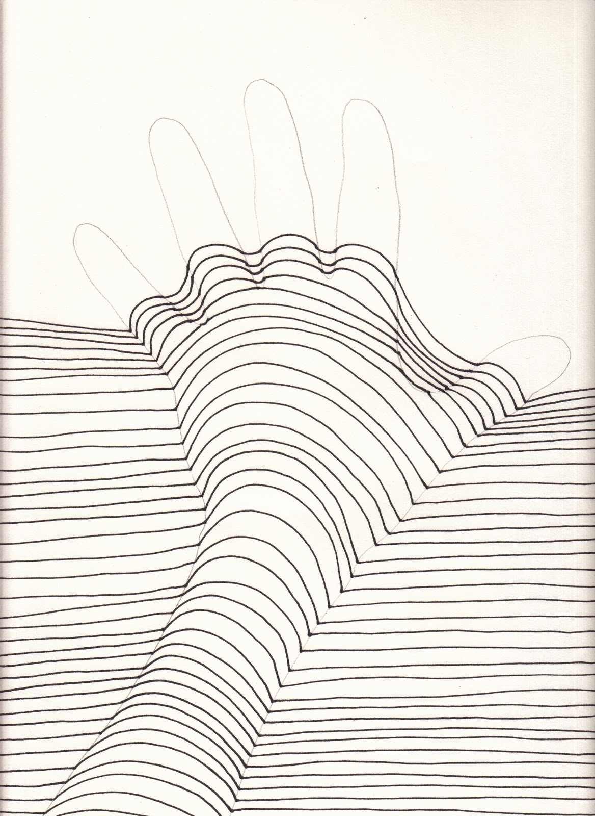 1168x1600 The Creative Spirit Op Art Hands That Pop! Lessons Lines