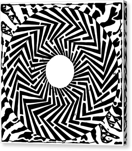 546x622 Trippy Optical Illusion Swirly Maze Drawing By Yonatan Frimer Maze