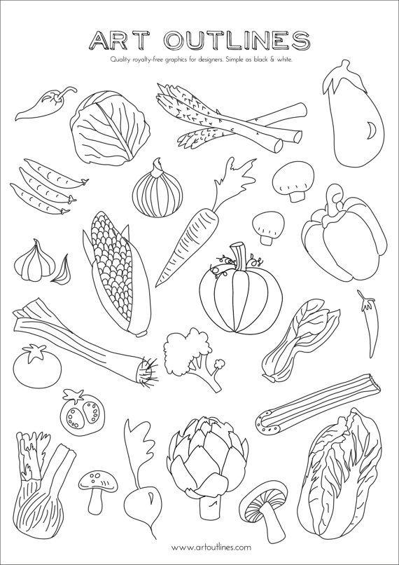 570x806 Set Of Vegetables