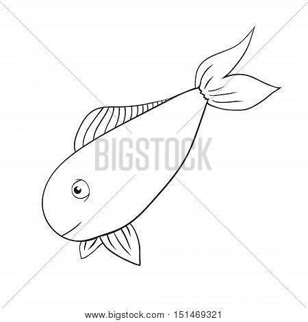 450x470 Vector Hand Drawn Fish