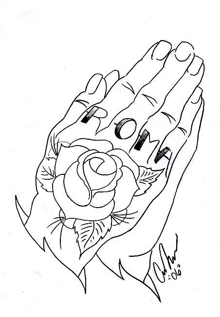 452x649 Drawings Of Praying Hands