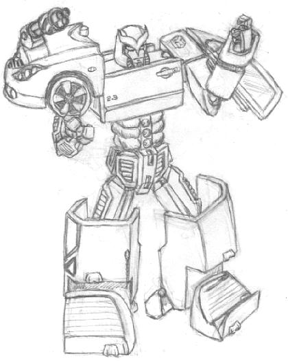 420x525 Dave's Gallery Of Robot Art